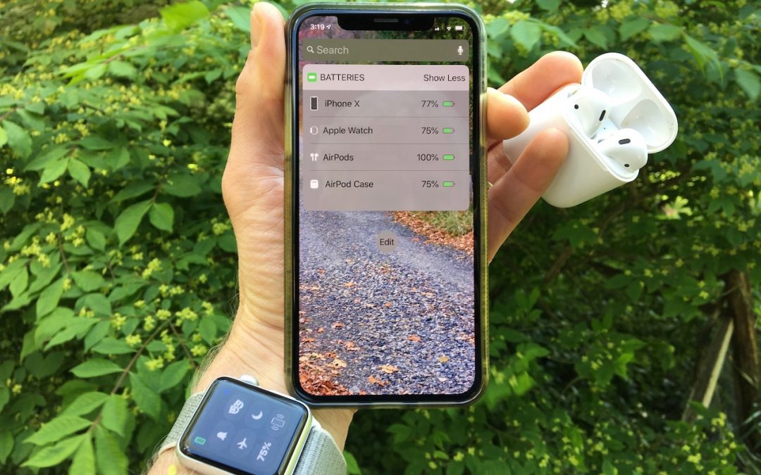 Here's How to Check Battery Levels on Your iPhone, Apple Watch, and AirPods