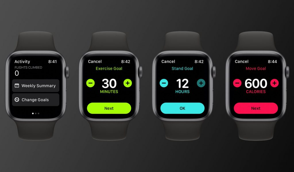 Changing your Apple Watch move, exercise, and stand goals with watchOS 7